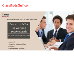 Executive MBA in Dubai