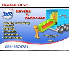 Ahmad Movers Packers In Al Qusais 056-6574781