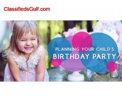 Unique Kids Birthday Party Halls and Places in Dubai