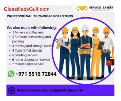 Service Basket Movers and packers